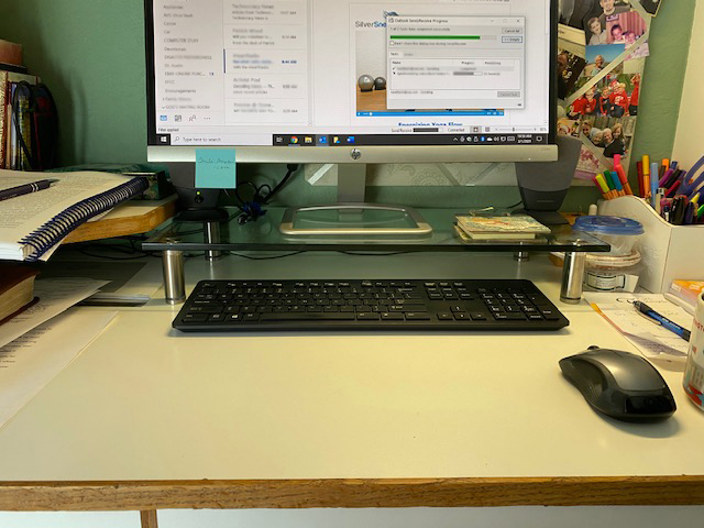 Monitor or CPU Shelf