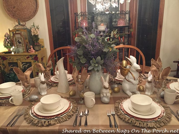 Spring Table, Great for Easter