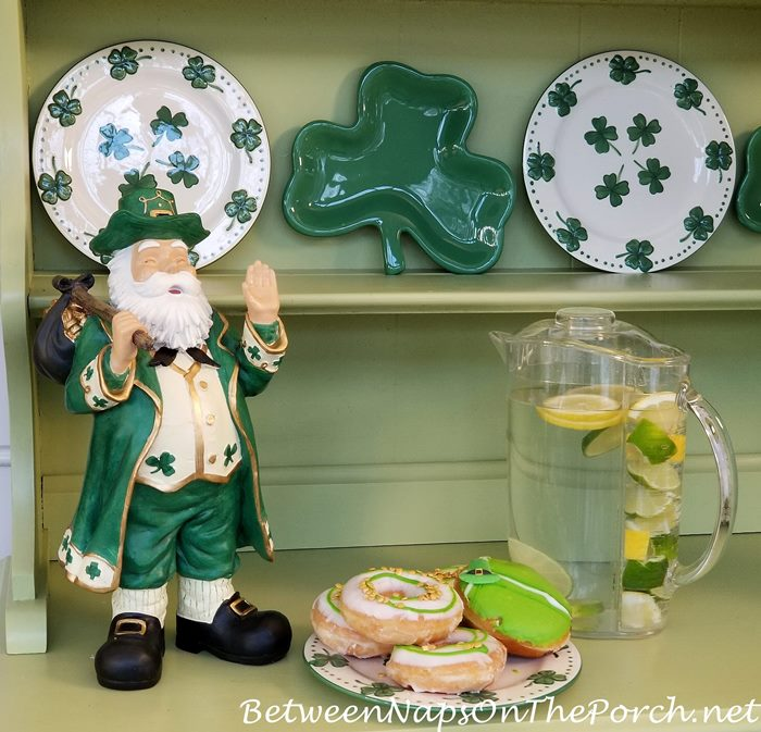 St. Patrick's Day Donuts, Fruit Infuser Pitcher