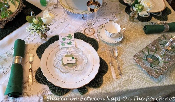 St. Patrick's Day Tea, Double Jam Server