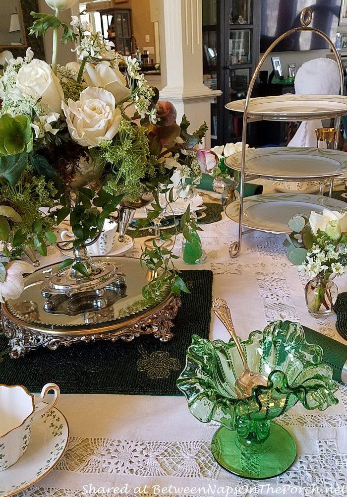 St. Patty's Table, Elegant Table