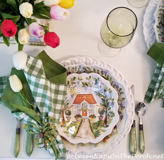 Darrio Farrucci, Ma Maison Dinnerware, Salad Plate