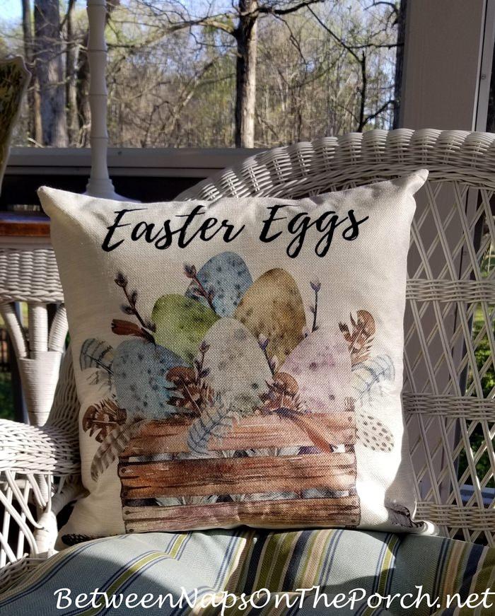 Easter Eggs Pillow