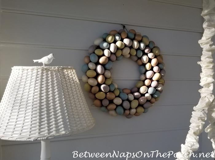 Egg Wreath for Easter
