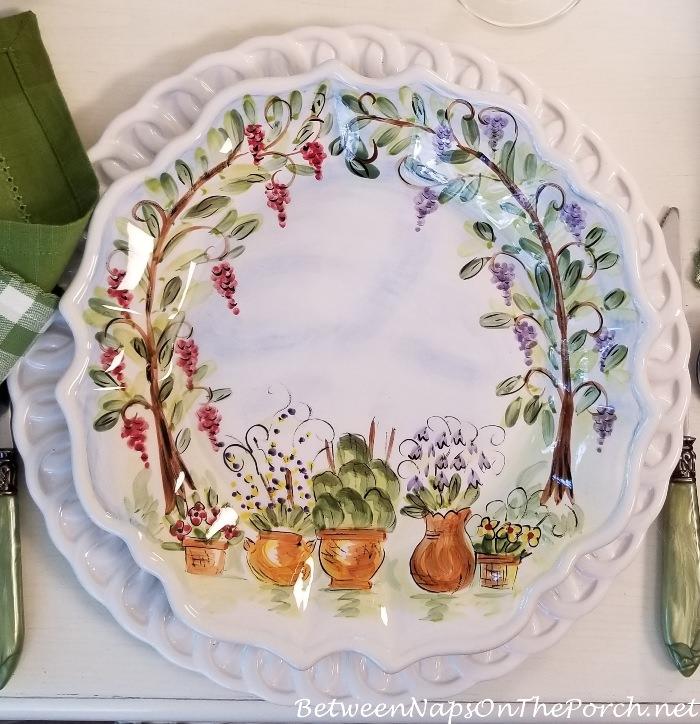 Ma Maison Dinner Plate
