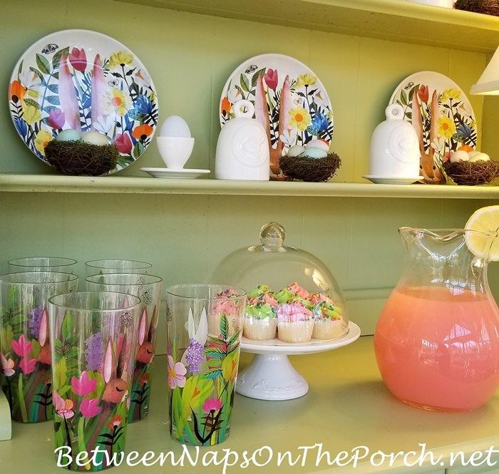 Mini-muffins and Pink Lemonade