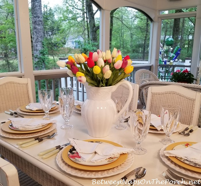Porch Dining for Spring