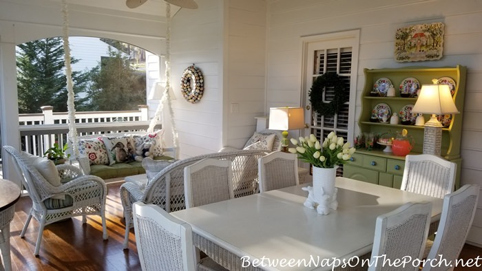Spring Screened Porch
