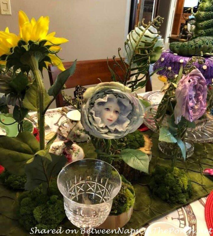 Talking Flowers from Alice in Wonderland