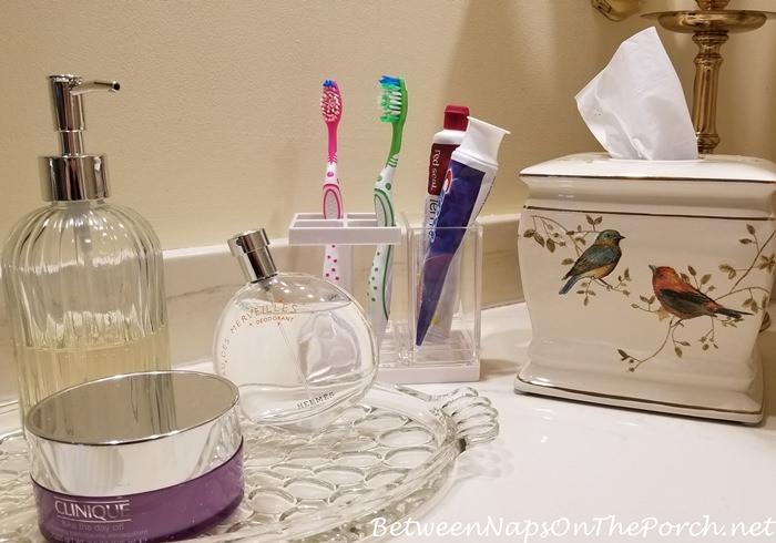 Birdie Themed Tissue Box for Bathroom