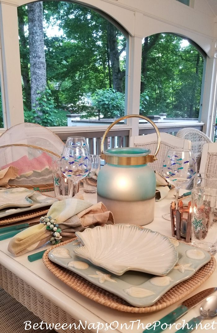 Entertaining on the Porch for Summer, Summer Dining