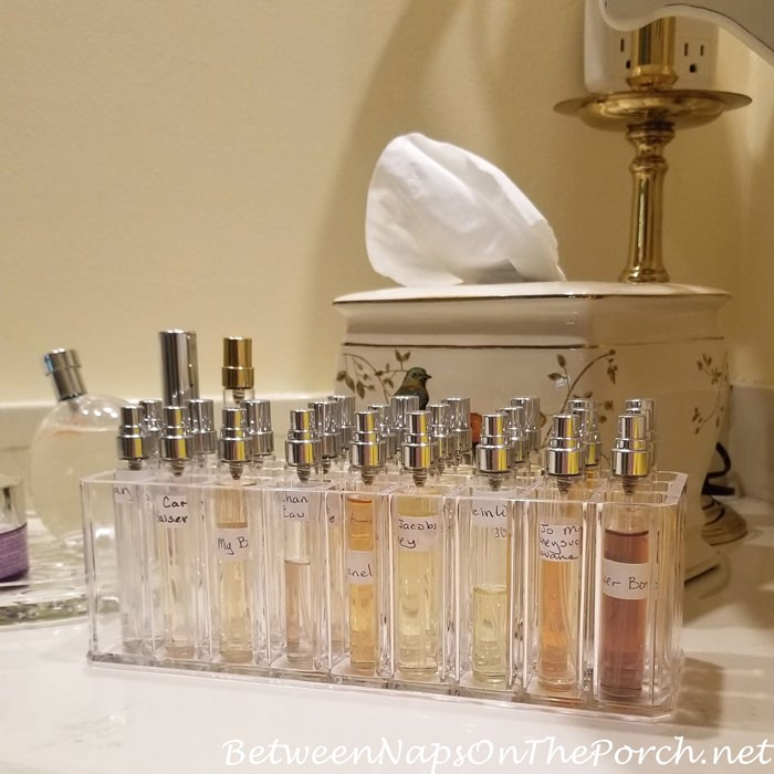 Hermes Perfume Atomizer, Perfume Vials