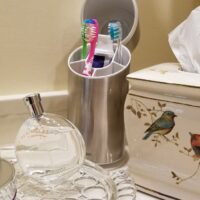 Hide Toothbrushes in Bathroom, Toothbrush Holder