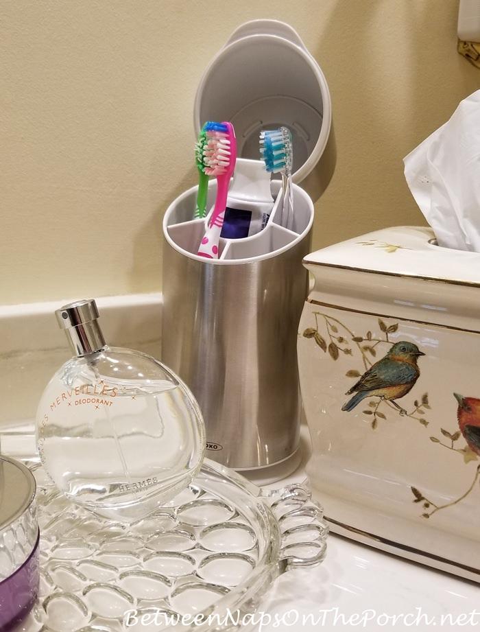 Hide Toothbrushes in Bathroom, Toothbrush Holder