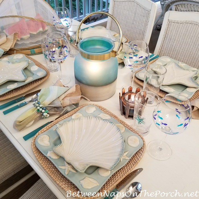 Seaside-Beach Themed Table for Dining