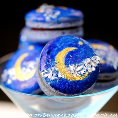 Stars and Moon Macarons