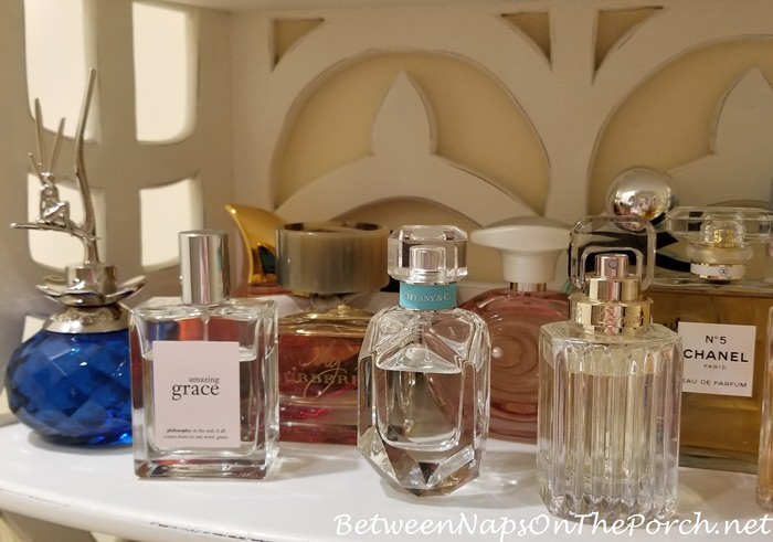 Van Cleef & Arpels Feerie, Tiffany & Co Perfume,Cartier Carat, Philosophy Amazing Grace, Burbery My Burberry Perfumes, Chanel No 5, Tommy Bahama Perfumes