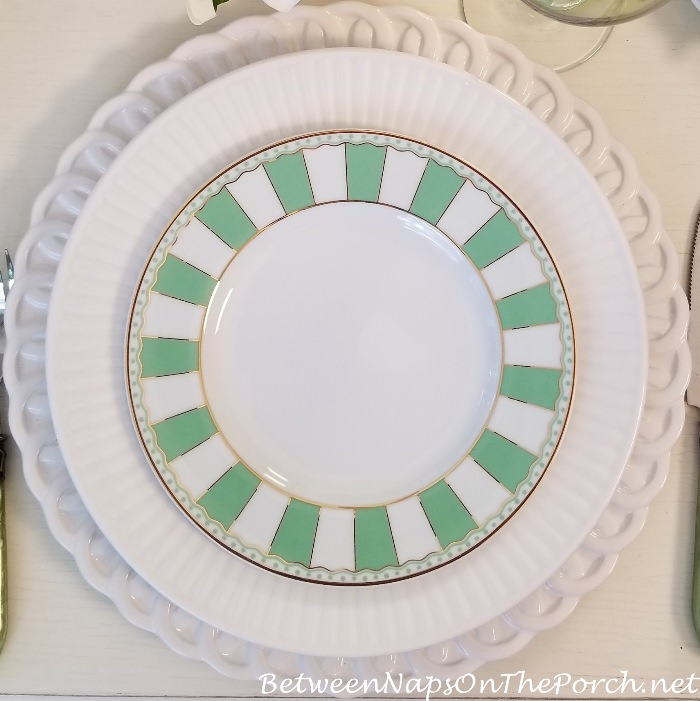 Noritake Carnivale in Apple Green, Salad Plate