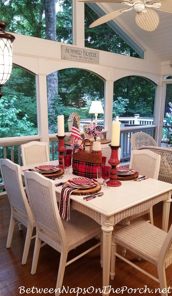 4th of July Dinner Celebration