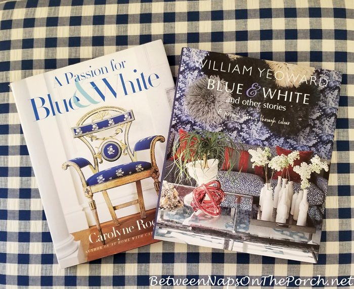 Blue and White Decorating Books