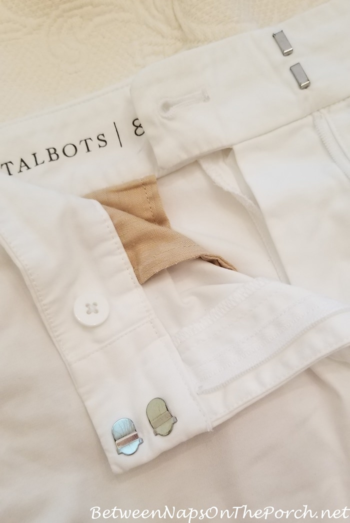 Button Covers Protect Shirts from Holes