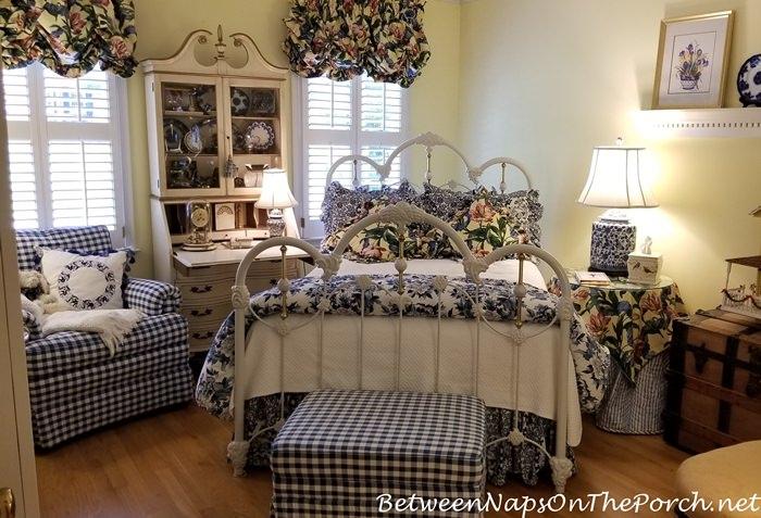 Guest Bedroom Updates, Handbag Storage with Billy Oxberg Cabinets