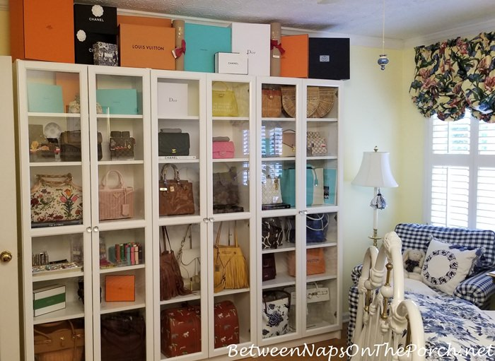 Handbag Storage, Decorate with Handbags