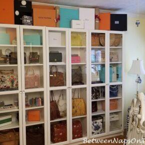 Handbag Storage and Organization
