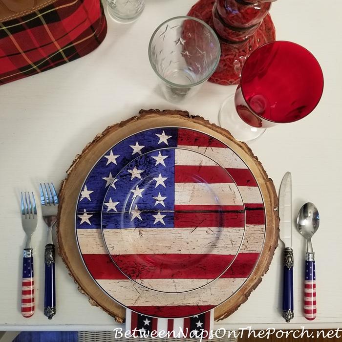 Warren Kimble, Colonial Flag Dinnerware