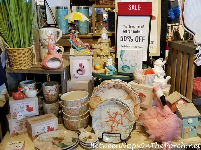 Beach Dishes and Decor on Sale, 2020