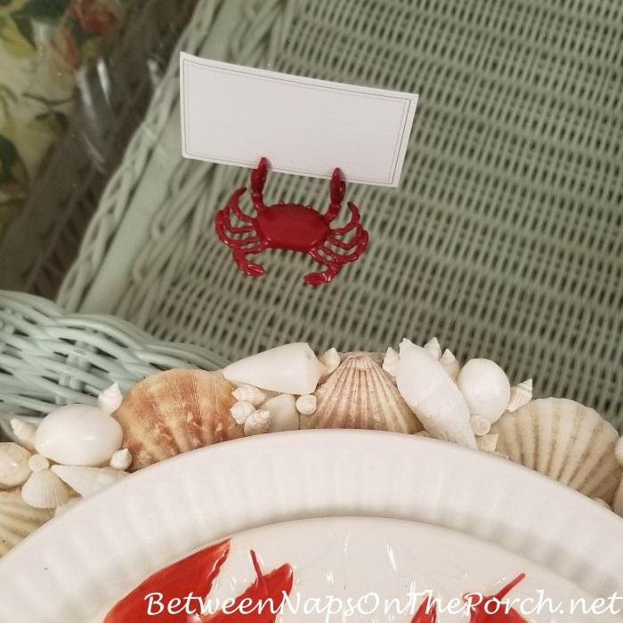 Crab Placecards