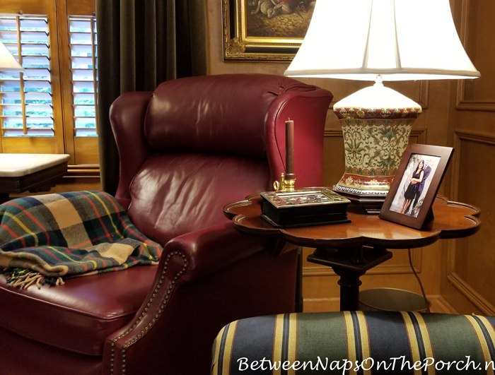 Jewel tone colors for paneled living room