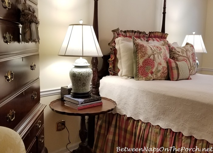 Add Height to Lamp with Books
