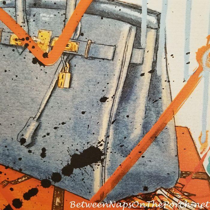 Close up of Birkin Canvas Art