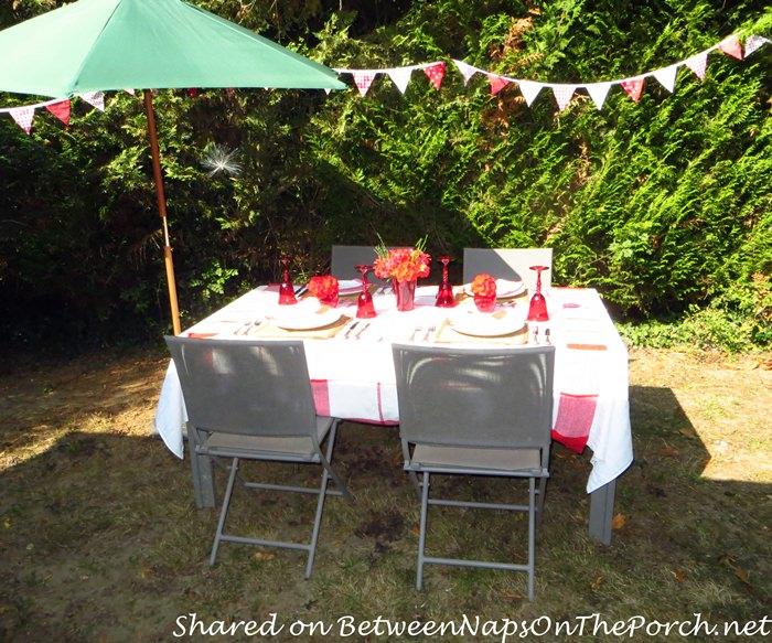 Dining Outside for Summer