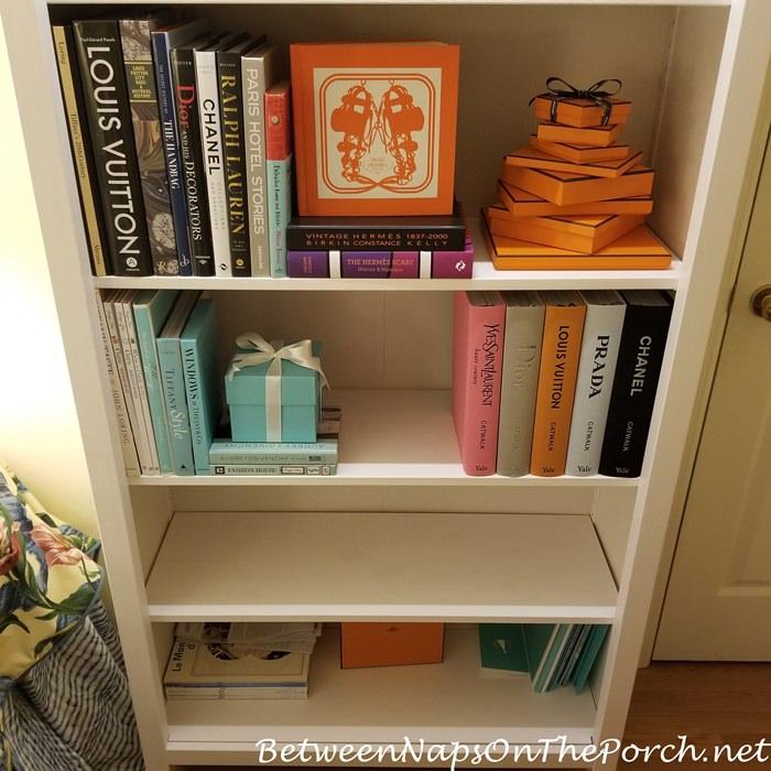 Fashion and Handbag Books Storage