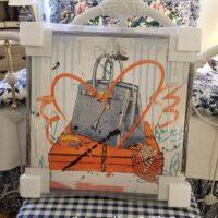 Hermes Birkin Canvas Art