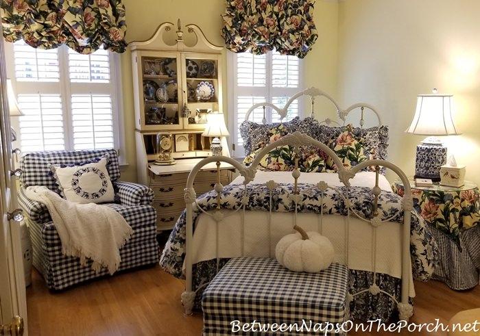 Cozy Guest Room with Cozy Pumpkin