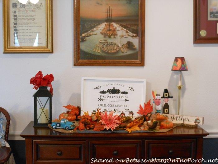 Decorating for Autumn