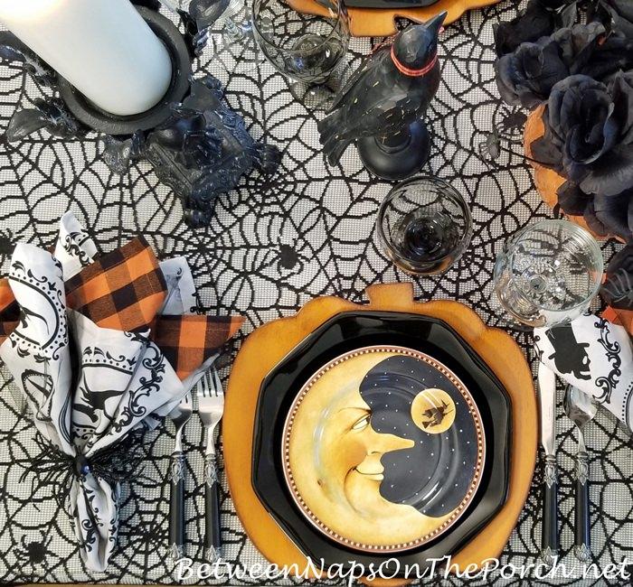 Halloween Dinner Party, Halloween Table
