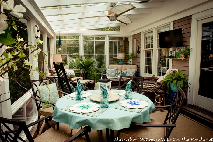 An ordinary patio becomes a beautiful three season porch 3 season rooms
