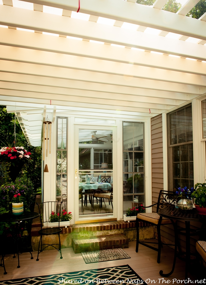 An ordinary patio becomes a beautiful three season porch for What is a 3 season porch
