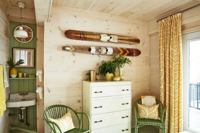 Guest Room in Rental Cottage Belonging To Sarah Richardson