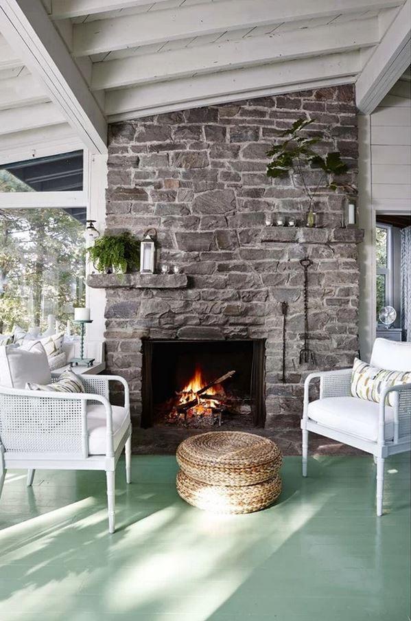 Sarah Richardson's Living Room, Cottage on Parry Sound