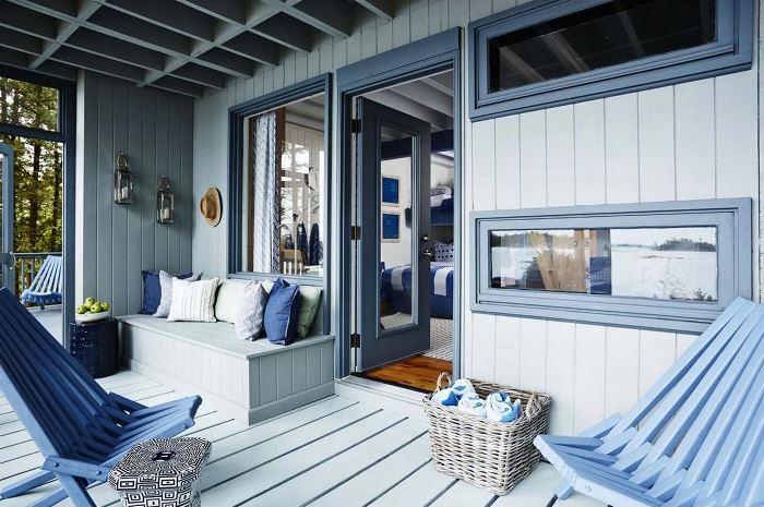 Sarah Richardson's Rental Cottage Porch
