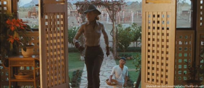 Doors to Porch, Faraway Downs in Movie, Australia