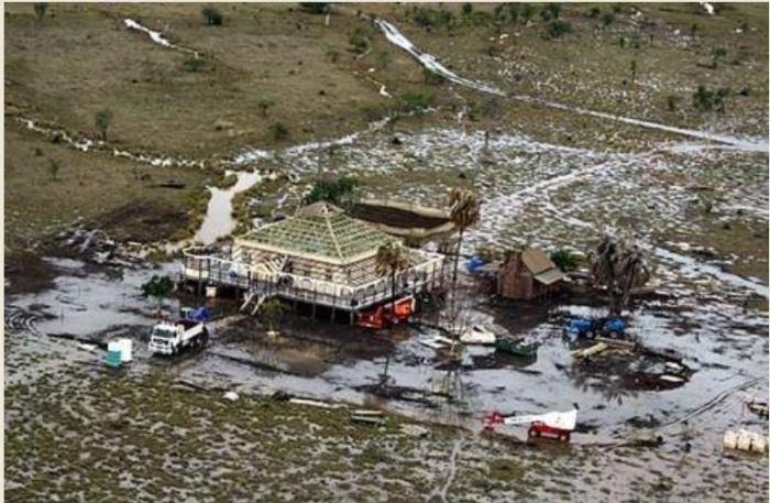 Faraway Down, Kununurra, Flooded During Making of Australia