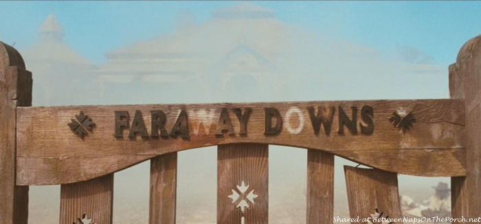 Faraway Downs Gate in movie, Australia