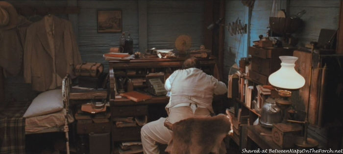 Kipling Flynn's (Jack Thompson) Room in Movie, Australia
