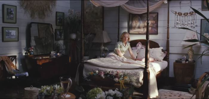 Lady Ashley's (Kidman) Bedroom in Movie, Australia
